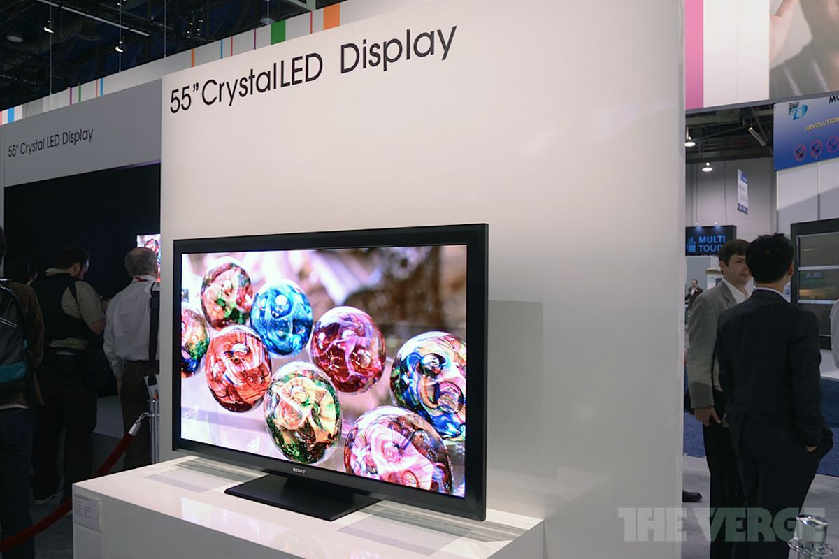 Gallery Photo: Sony Crystal LED Display prototype pictures from CES 2012