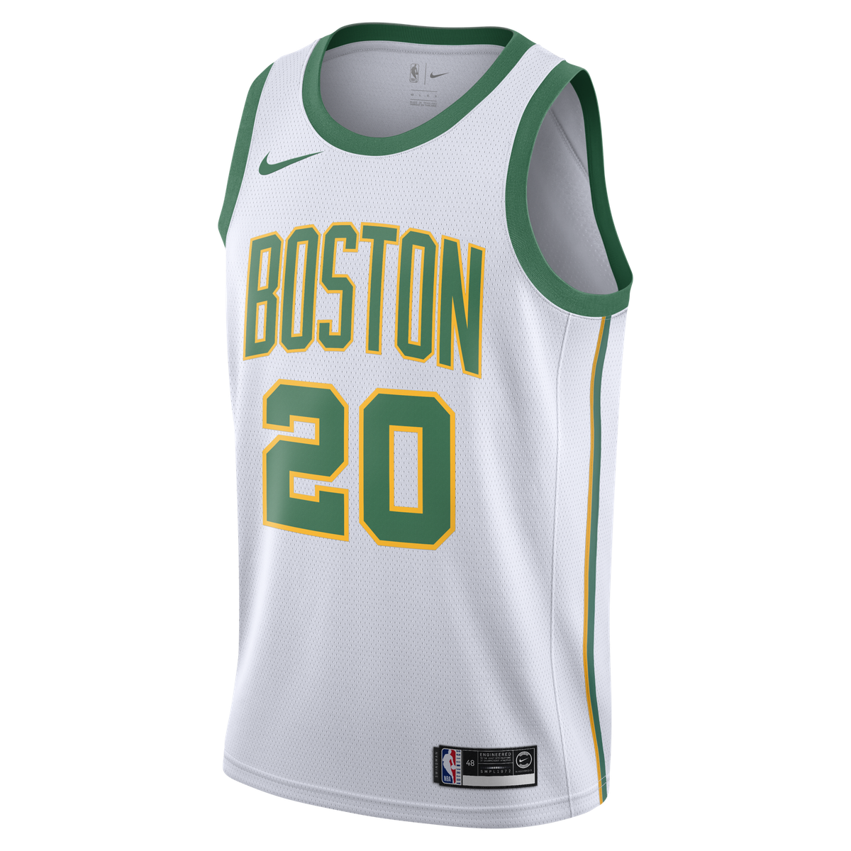 40b3346762d Gordon Hayward Nike Swingman Jersey - City Edition for  109.99 Fanatics