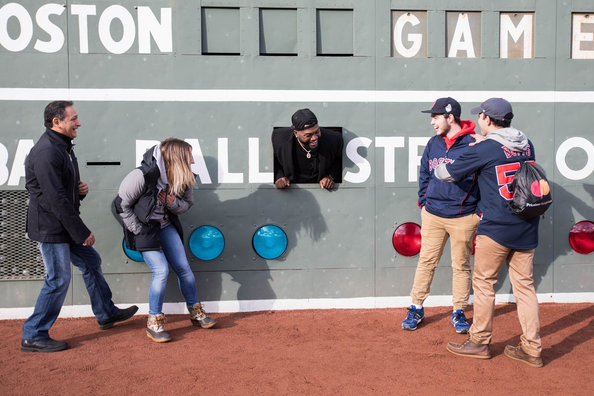 Mastercard And David Ortiz Deliver Red Sox Fans A Priceless Surprise