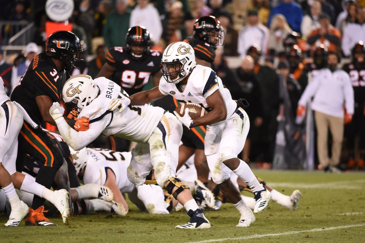 NCAA Football: Miami at Georgia Tech
