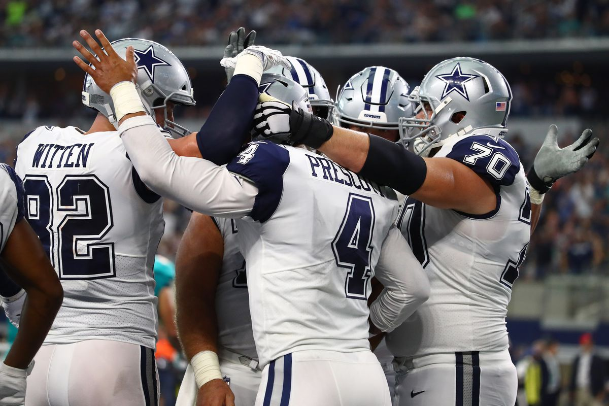 finest selection e431b 2577e The undefeated Dallas Cowboys have opened as favorites in ...