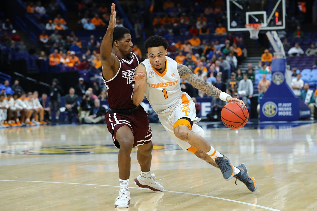NCAA Basketball: SEC Conference Tournament-Tennessee vs Mississippi State