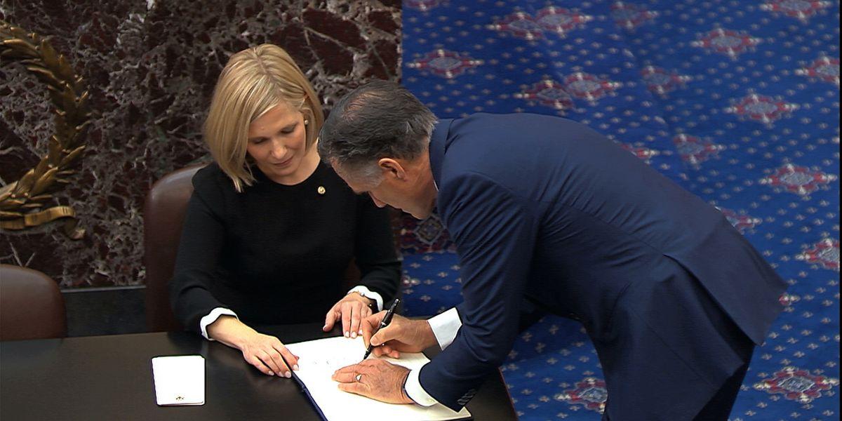 Utah Sen. Mitt Romney says he supports Republican plan for Senate impeachment trial