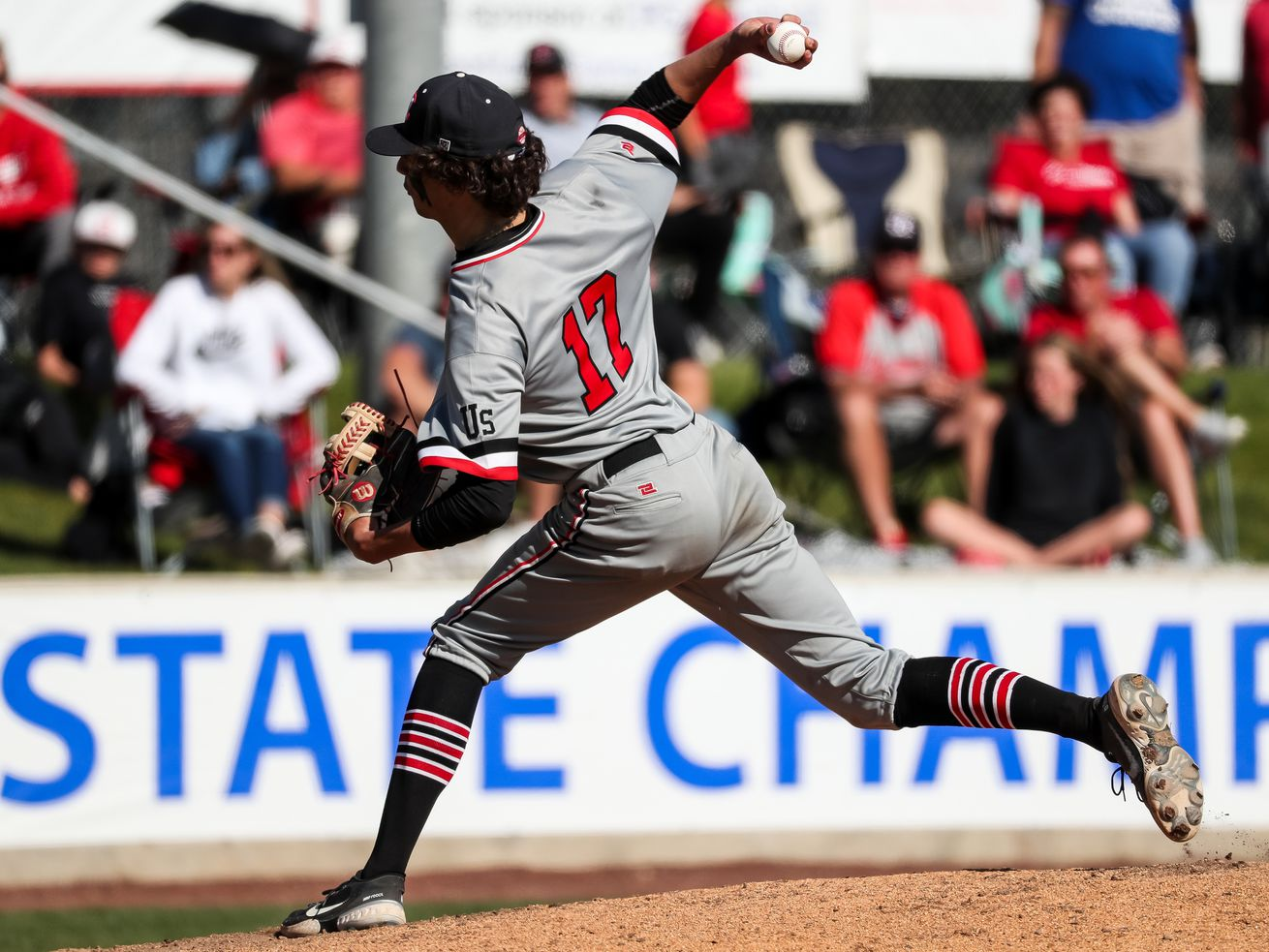 High school baseball: American Fork rolls past rival Pleasant Grove in battle of 6A unbeatens