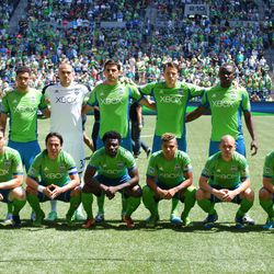 Sounders Starting XI