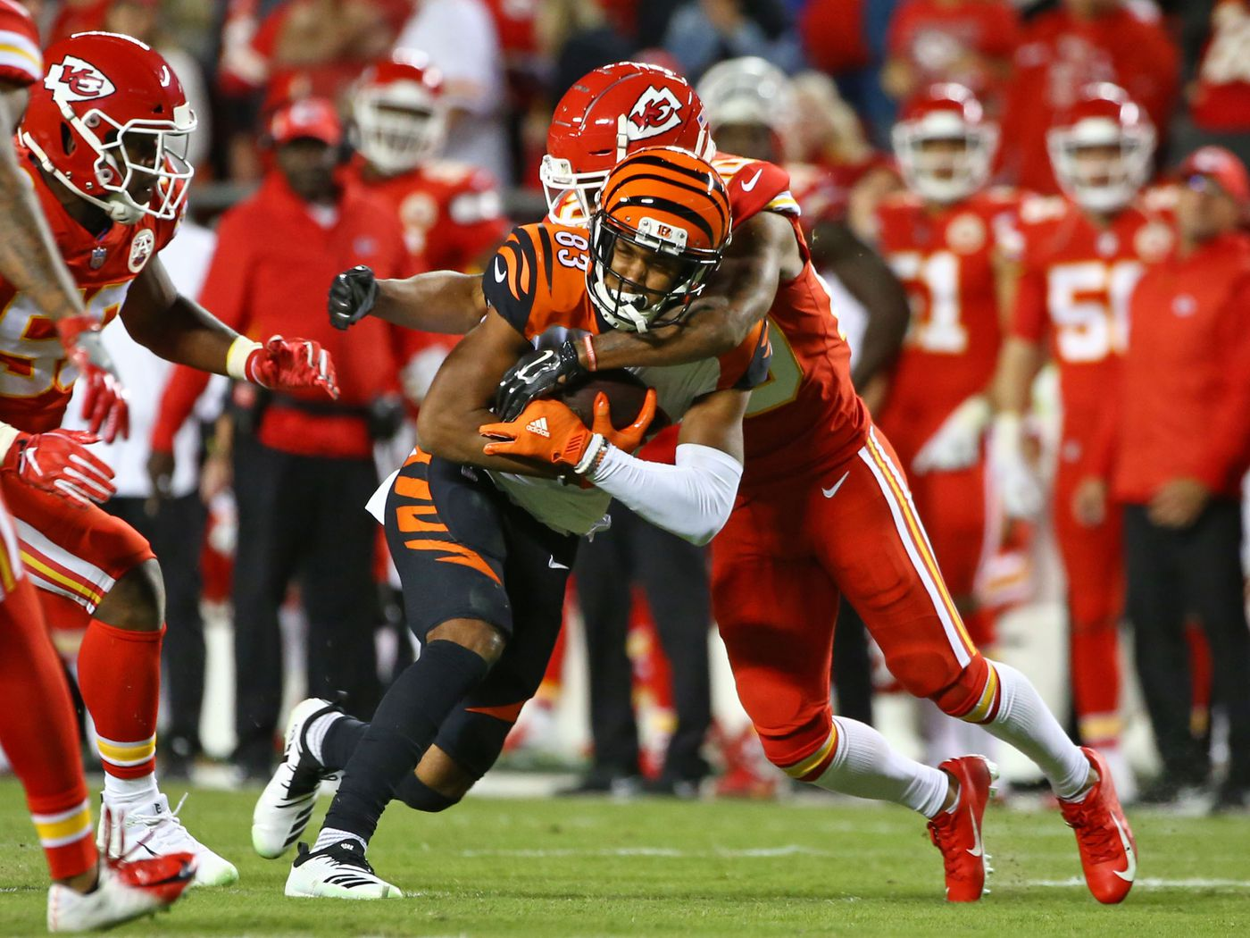 Five hot takes from the Chiefs win over the Bengals - Arrowhead Pride a9ac304bb