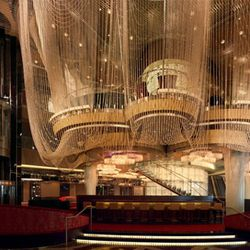 The Chandelier at the Cosmopolitan of Las Vegas.
