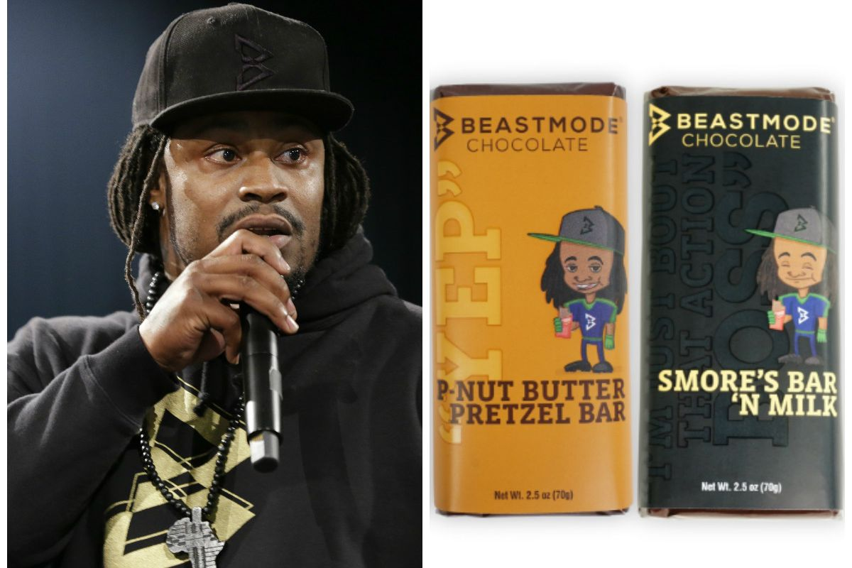 874a38ade7934 Marshawn Lynch Launches His Own Line of Candy Bars - Eater