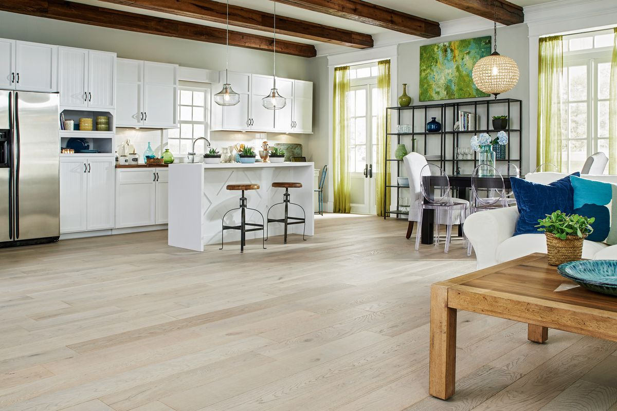 Wood Floors Are Lightening Up This
