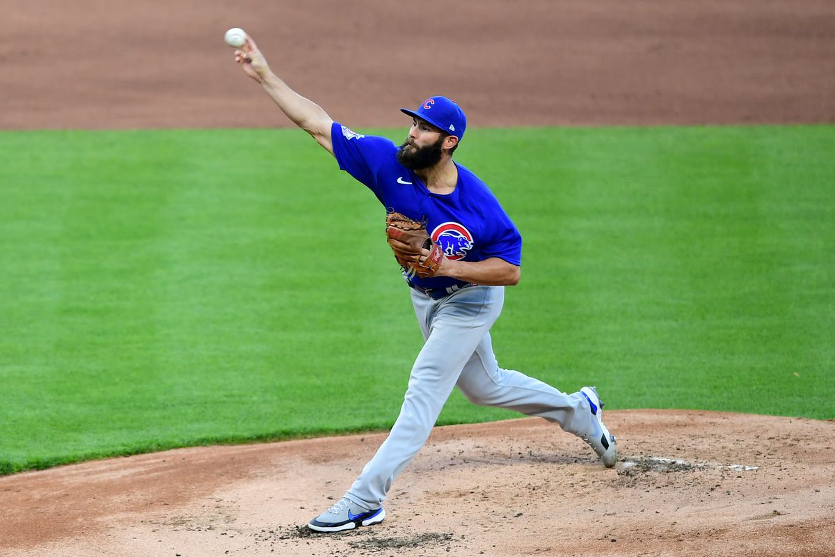 """""""I tried to throw a bullpen a couple days ago and really just wasn't able to apply the pressure necessary on any of my pitches,"""" the Cubs' Jake Arrieta said."""