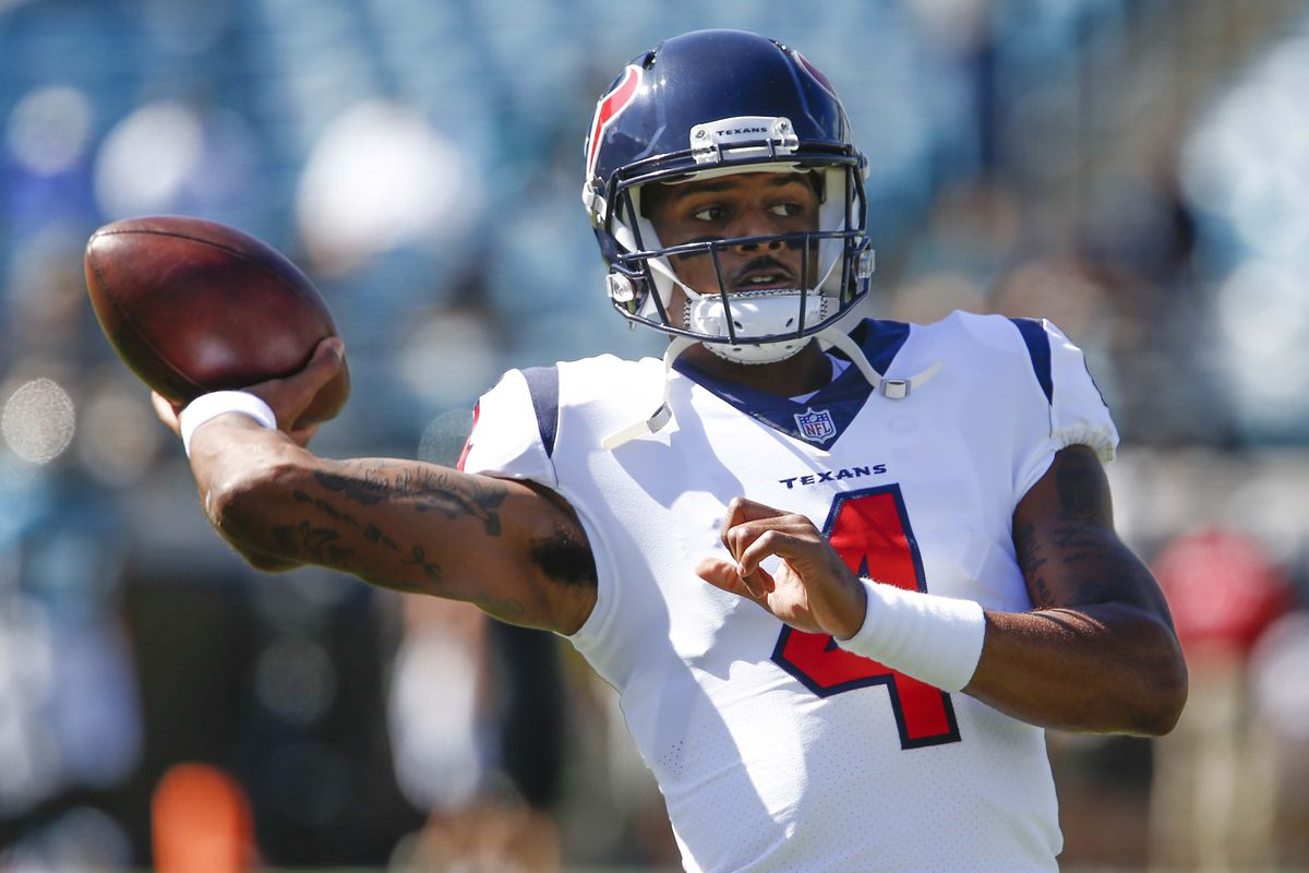 huge selection of b3133 af86c Deshaun Watson rode a bus to face the Jaguars because of ...