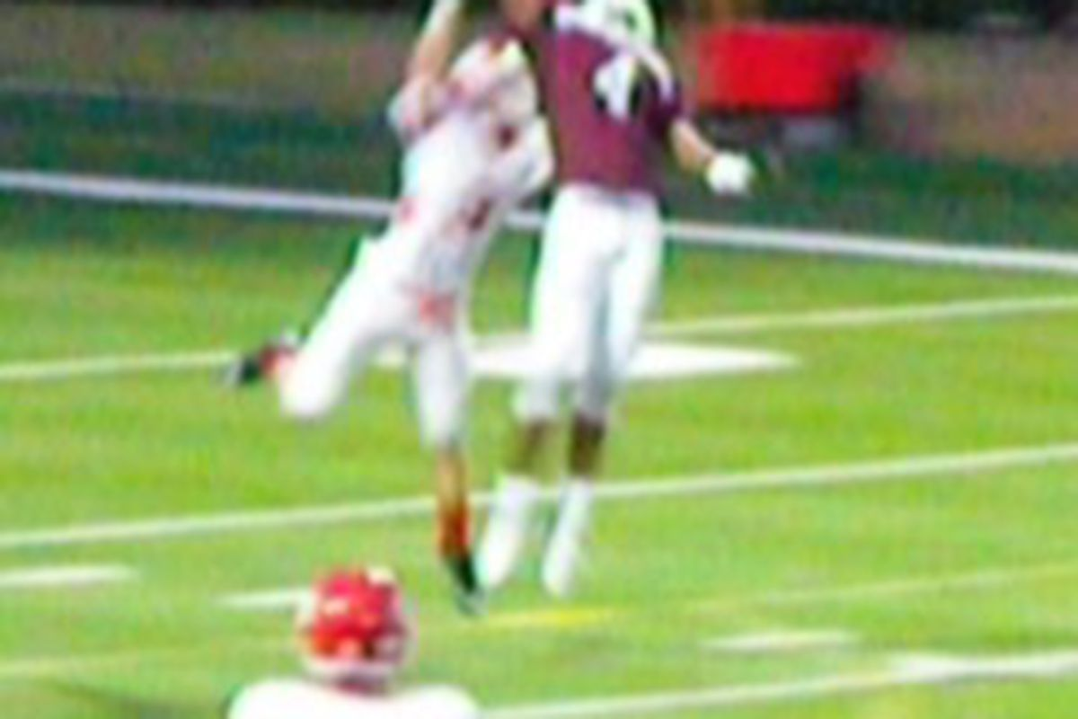Levitation. Brought to you by JD1 attendee Cayleb Jones, Austin High WR (photo by the author).