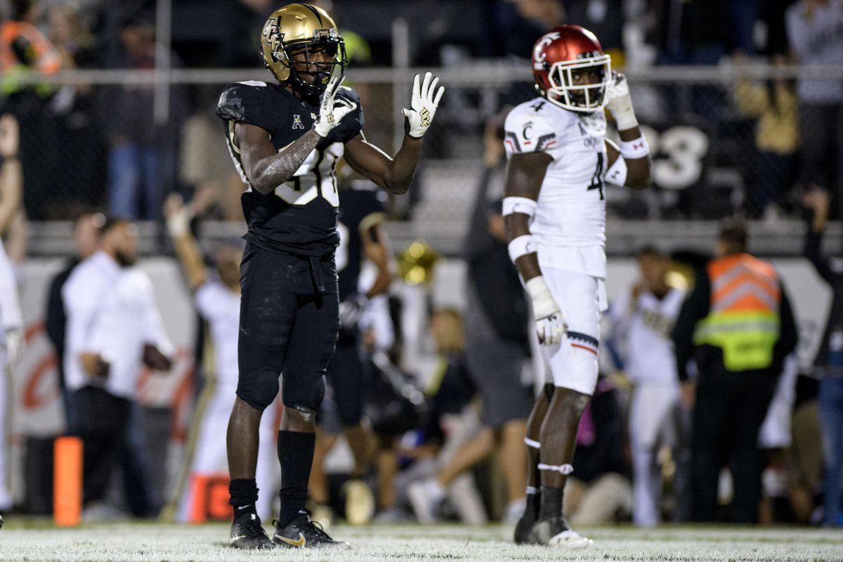 NCAA Football: Cincinnati at Central Florida