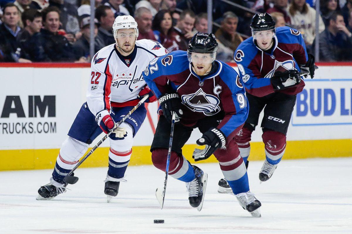 NHL: Washington Capitals at Colorado Avalanche