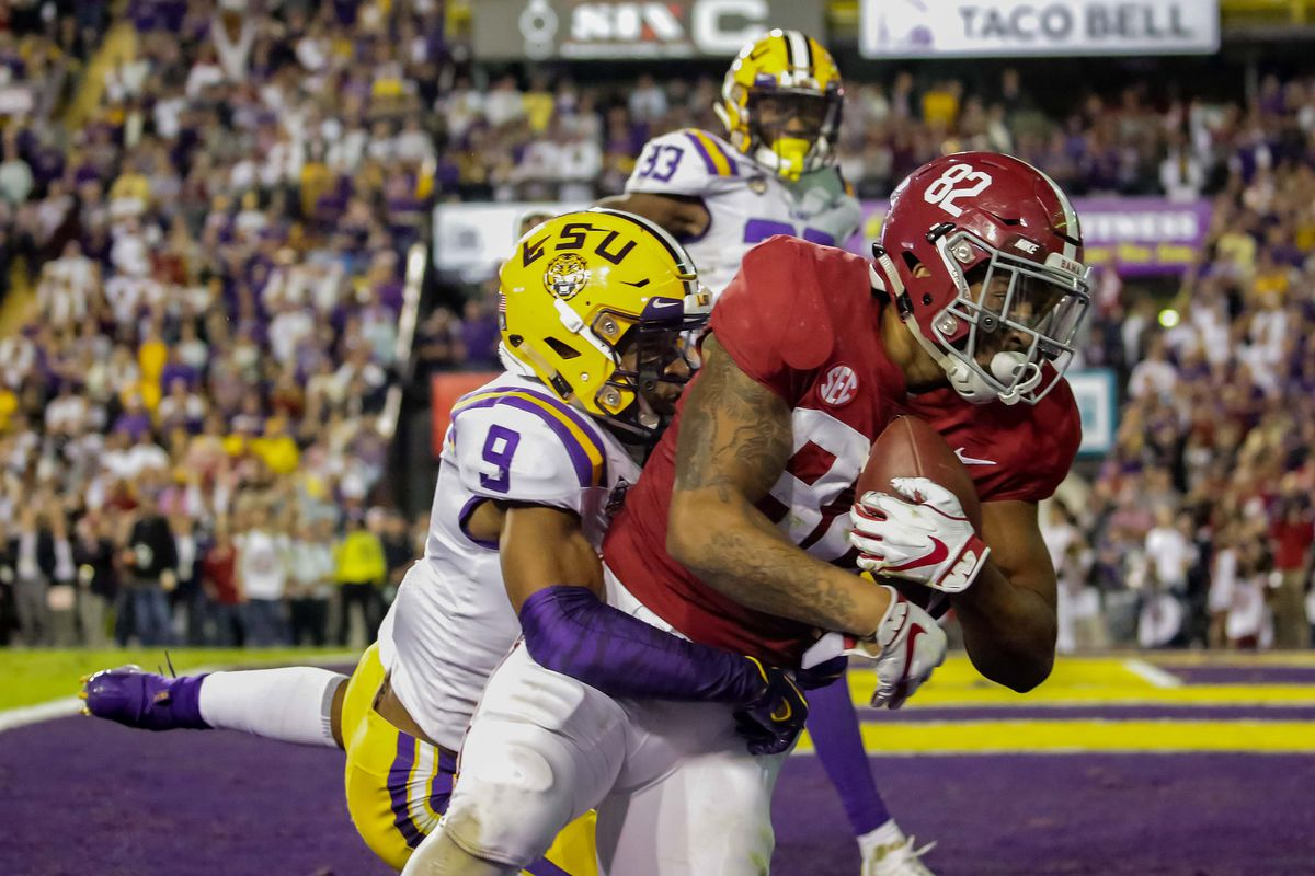 College Football Saturday Bama Vs Lsu Highlights Today S
