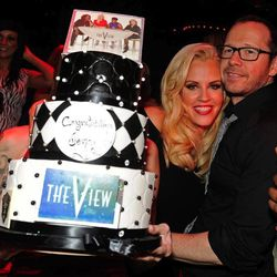 Jenny McCarthy and Donnie Wahlberg. Photo: David Becker/WireImage
