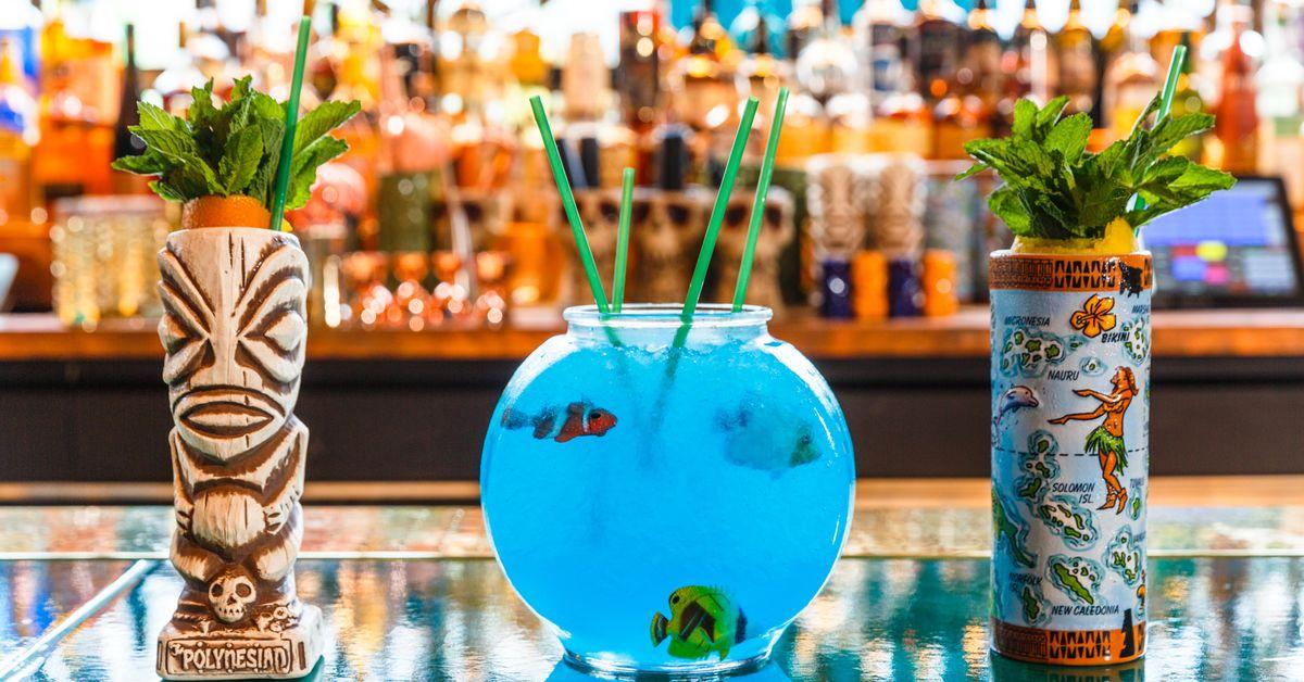 The Polynesian Starts Shaking Tiki Cocktails In Midtown
