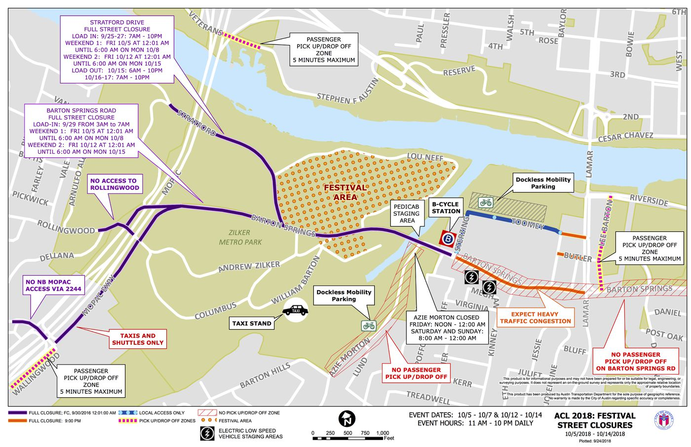 ACL Fest 2018: How to get there (or avoid it) - Curbed Austin Zilker Park Austin Texas Map on zilker park austin address, parks in austin tx map, austin city parks map, austin city limits map, texas bluebonnet trail map, barton springs austin map, zilker park trail map, sixth street austin map, pease park austin texas map, zilker park austin picnic area,