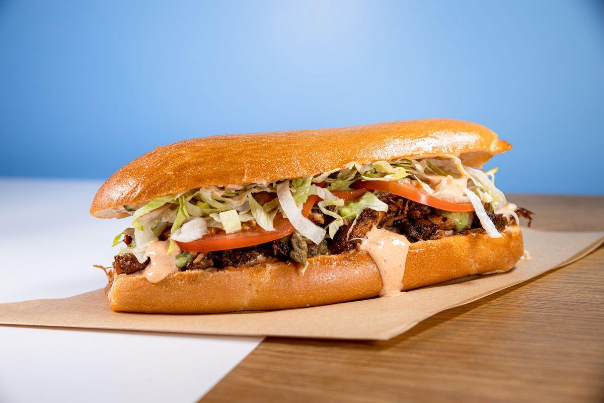 Tripleta sandwich from Tripleta pop-up