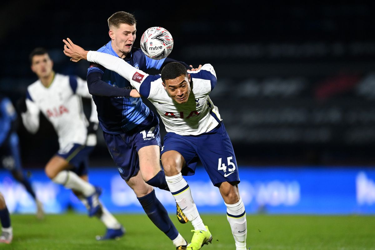 Wycombe 1-4 Tottenham Hotspur: Late goal flurry power Spurs to FA Cup 5th  Round - Cartilage Free Captain