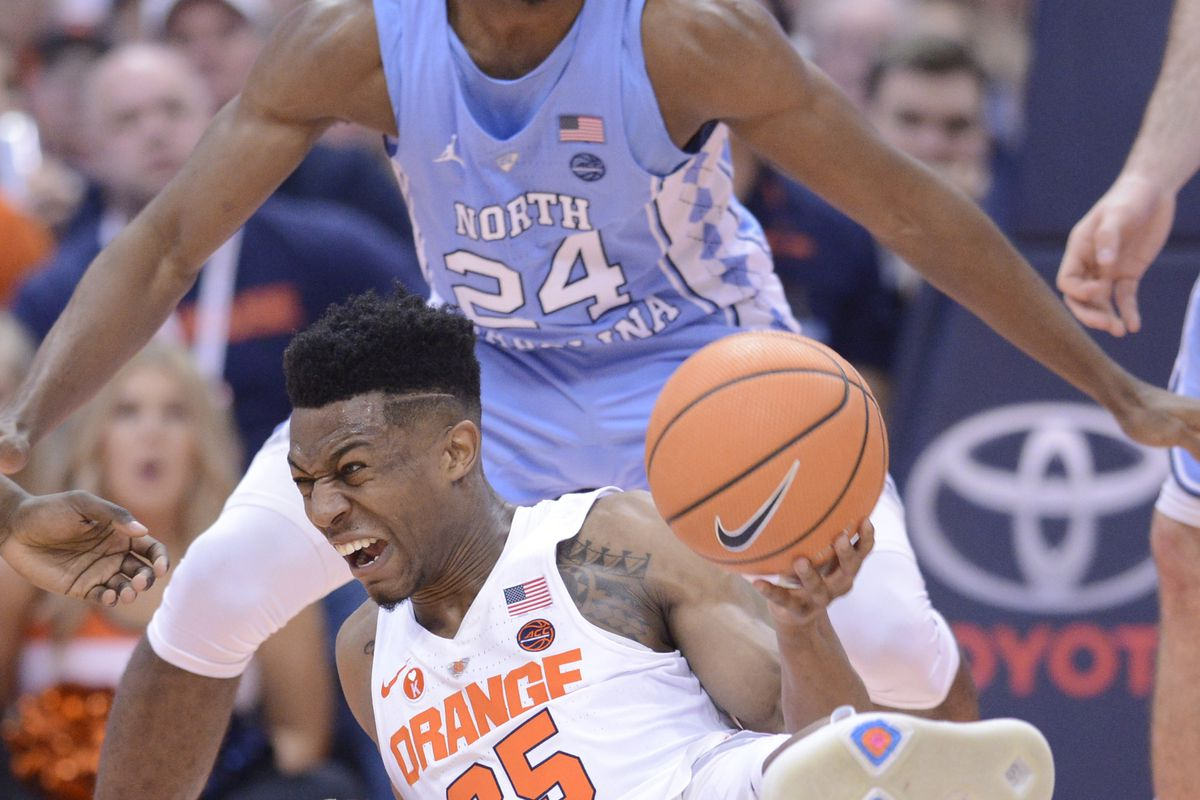Why has north carolina had syracuse s number in acc play for 979 the beat number