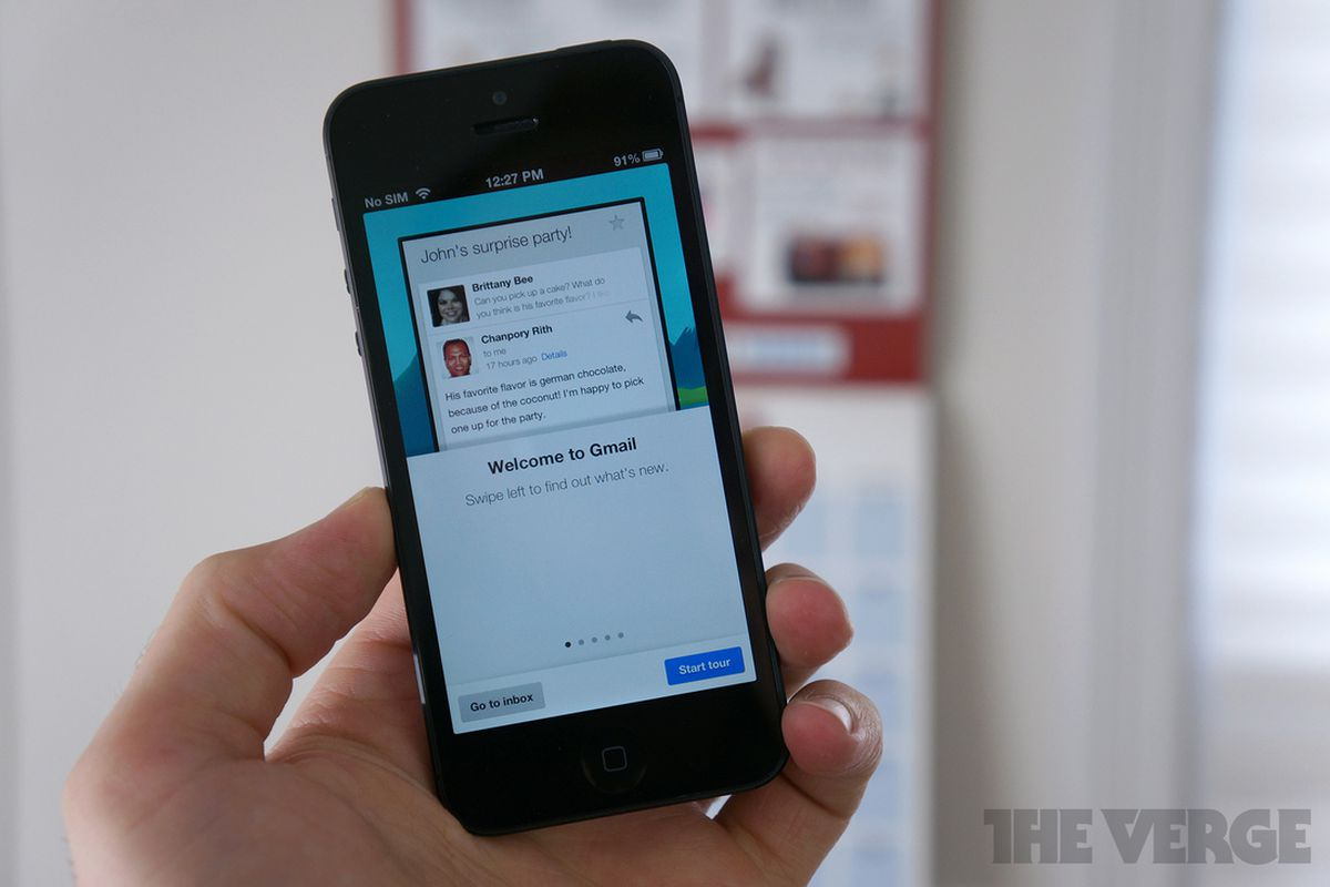 Gmail 2.0 for iOS