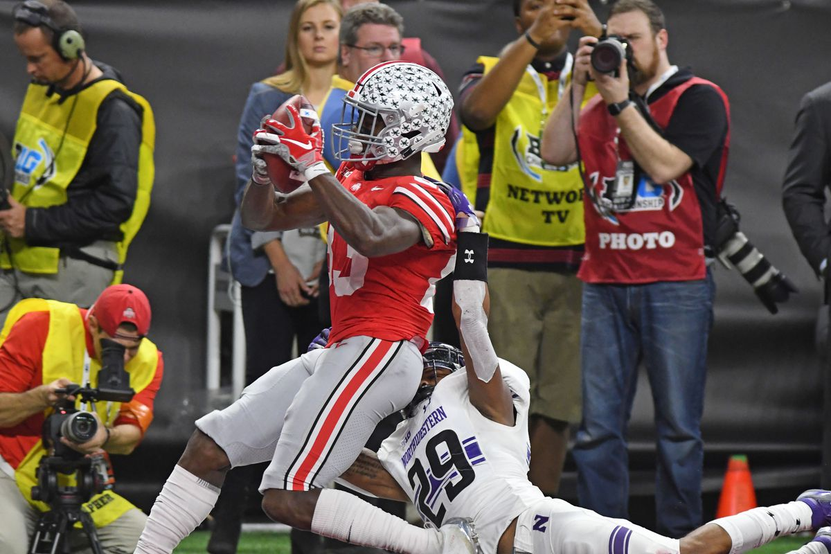1def147e765 Ohio State wide receiver Terry McLaurin selected by Washington Redskins in  third round of NFL Draft