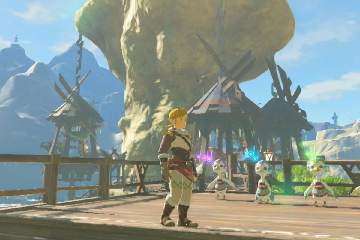 Zelda Breath of the Wild warm clothes guide: warm doublet and