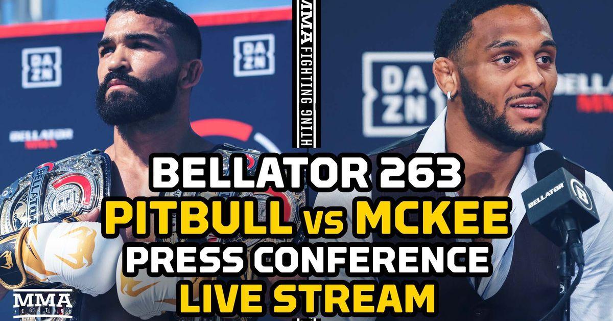 Bellator 263 press conference video