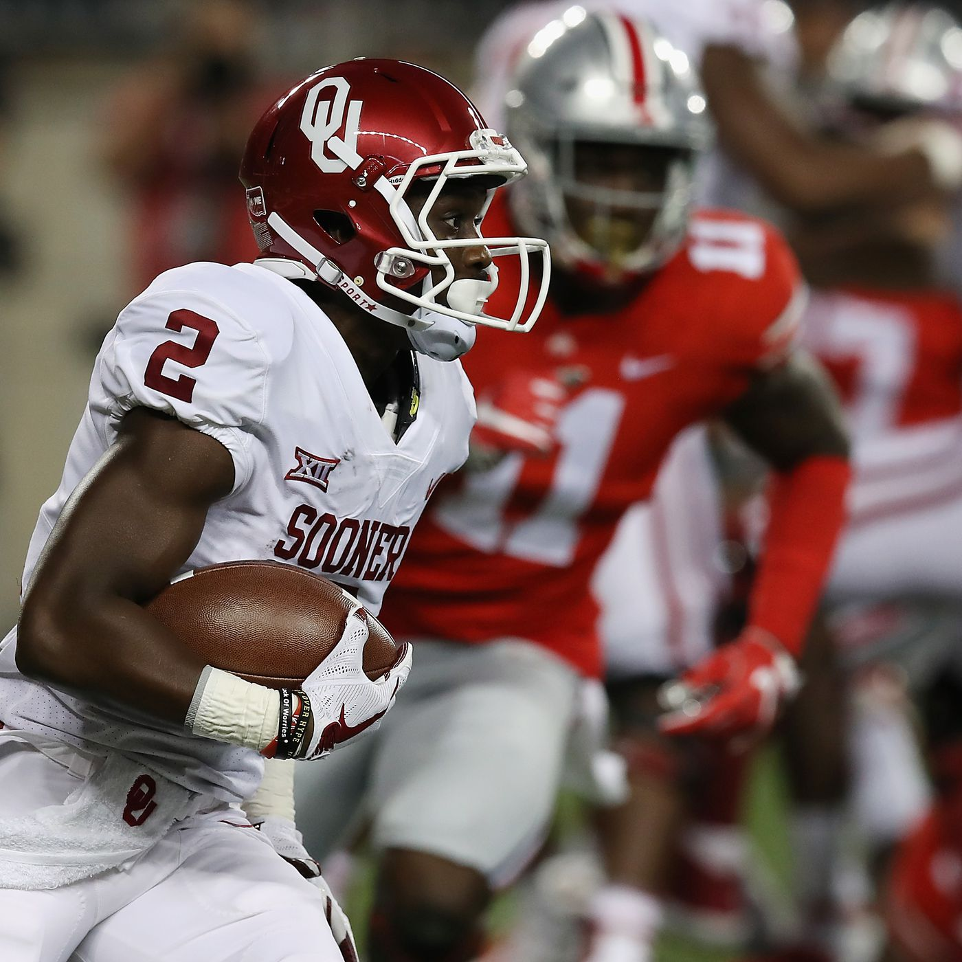 Oklahoma Football: Baker Mayfield has outside weapons in Badet and ...