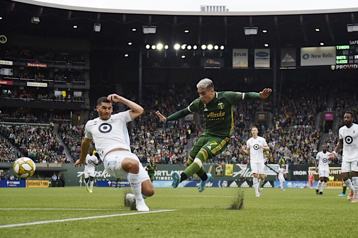 Portland Timbers shut out for third straight match in 0-0 draw against Minnesota United