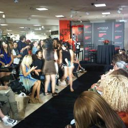 Before Macy's fashion show