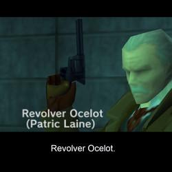 Revolver Ocelot has seen better days