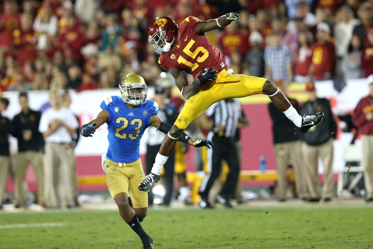 WR Nelson Agholor and USC take on the Bruins in a do-or-die game for both in the P12 South