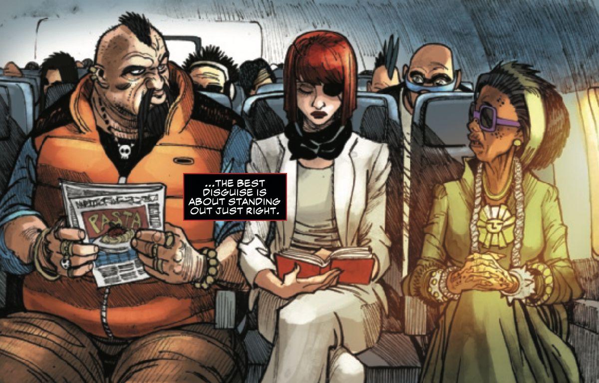 From Black Widow #1, Marvel Comics (2019).