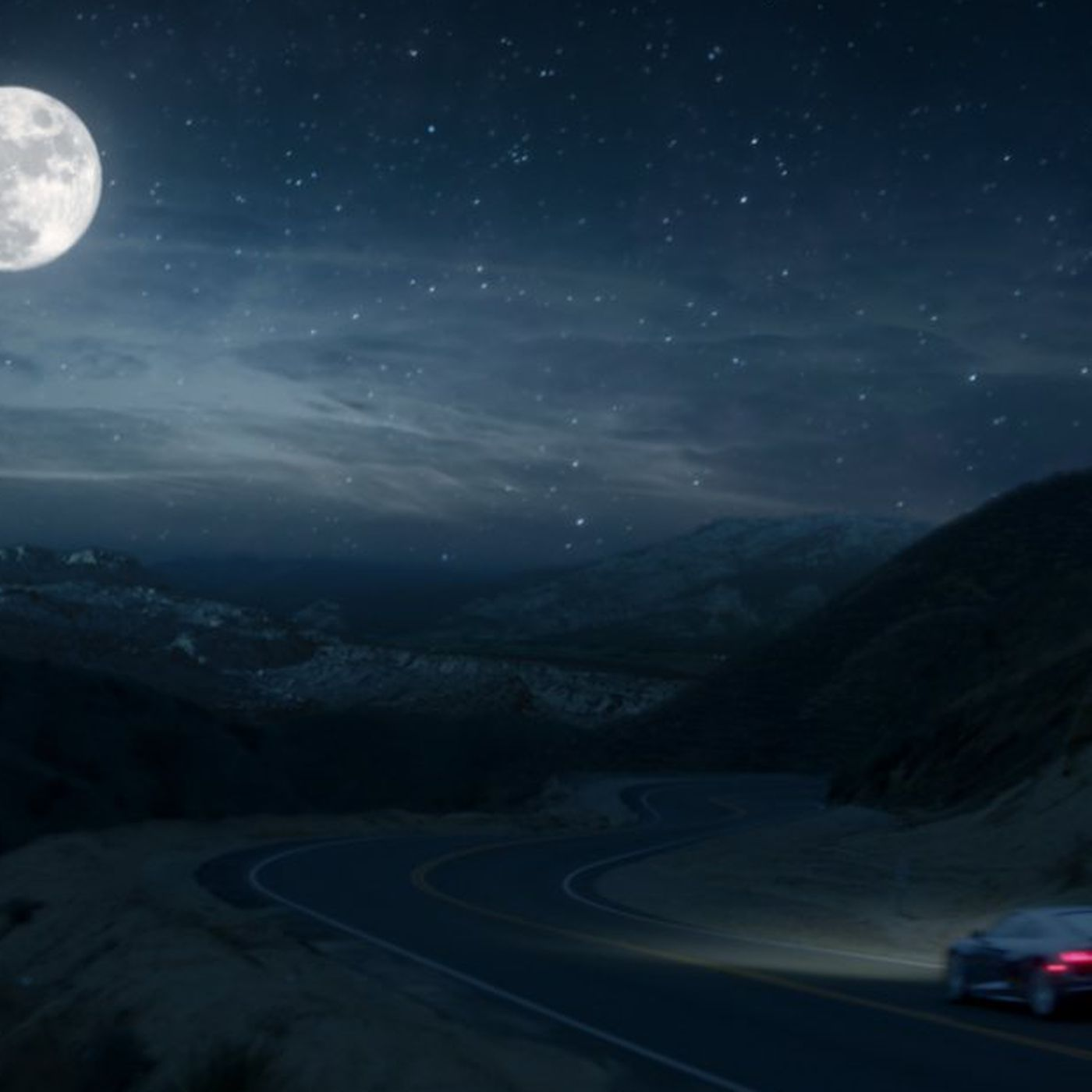 Audis Super Bowl Ad Claims Driving An R Is Like Going To The Moon - Audi superbowl commercial