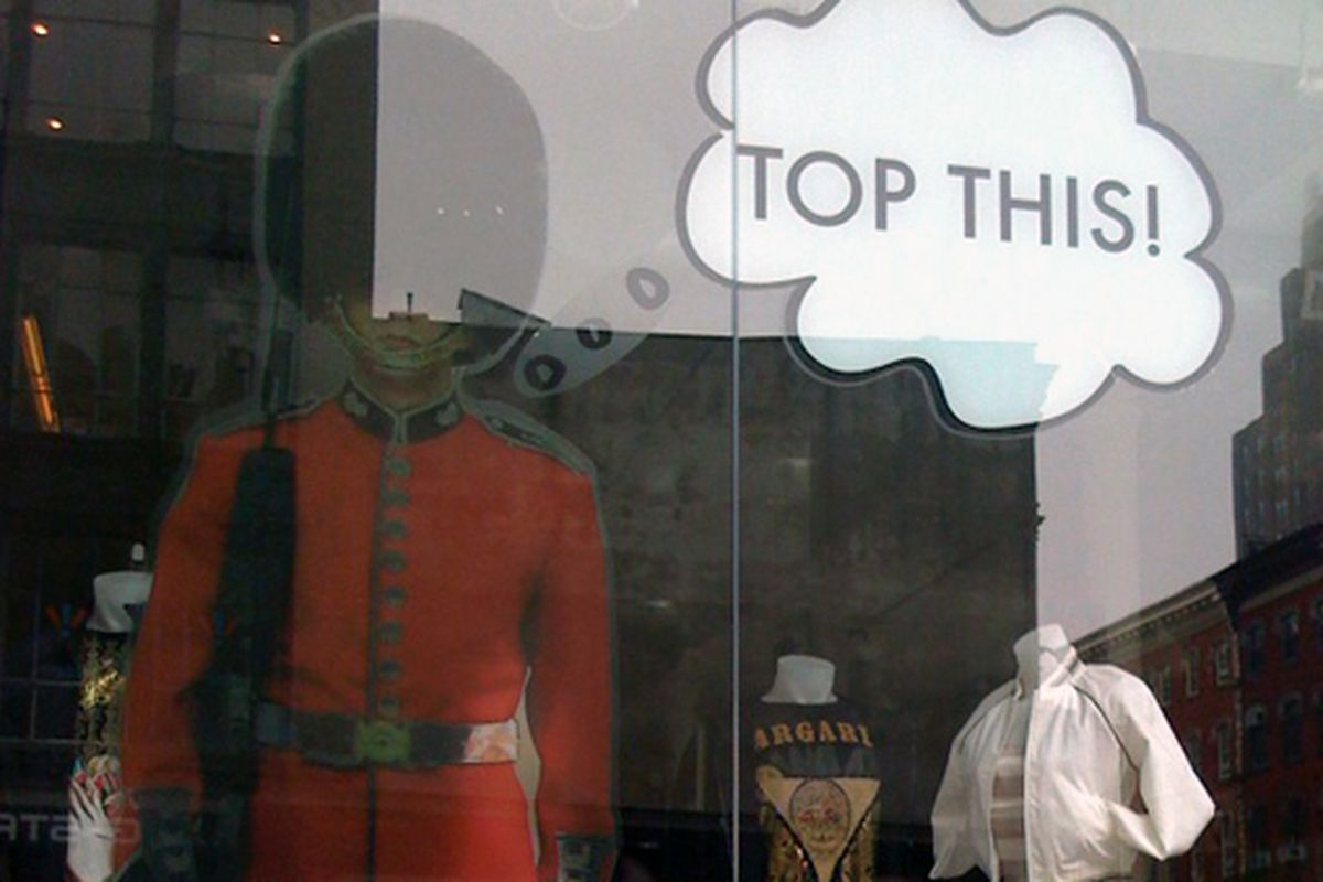 A Soho store tells Topshop what's what