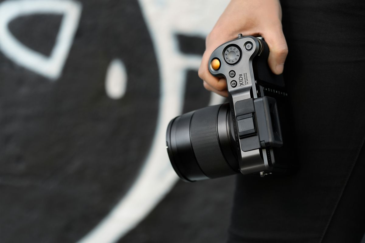 Hasselblad's new X1D II is a less expensive, faster medium format
