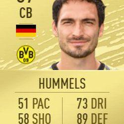 Mats Hummels in FIFA 2020