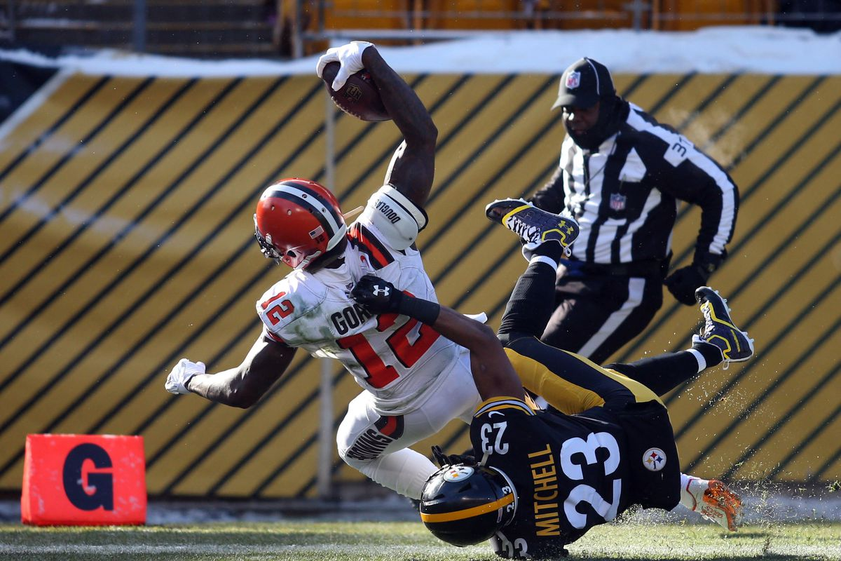 Cleveland Browns Vs Pittsburgh Steelers 4th Quarter Game