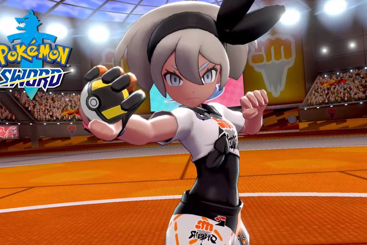 Bea, the upcoming fighting-type gym leader from Pokémon Sword and Shield