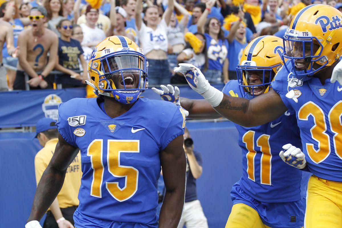 NCAA Football: Central Florida at Pittsburgh