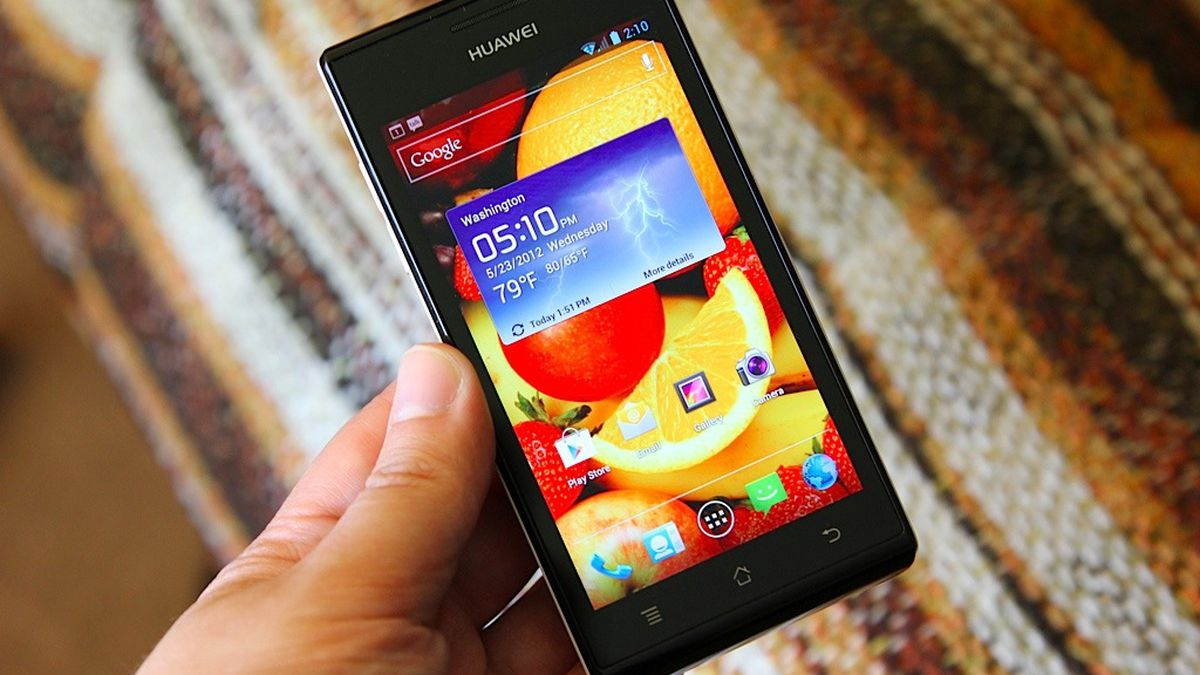 Huawei Ascend P1 review - The Verge