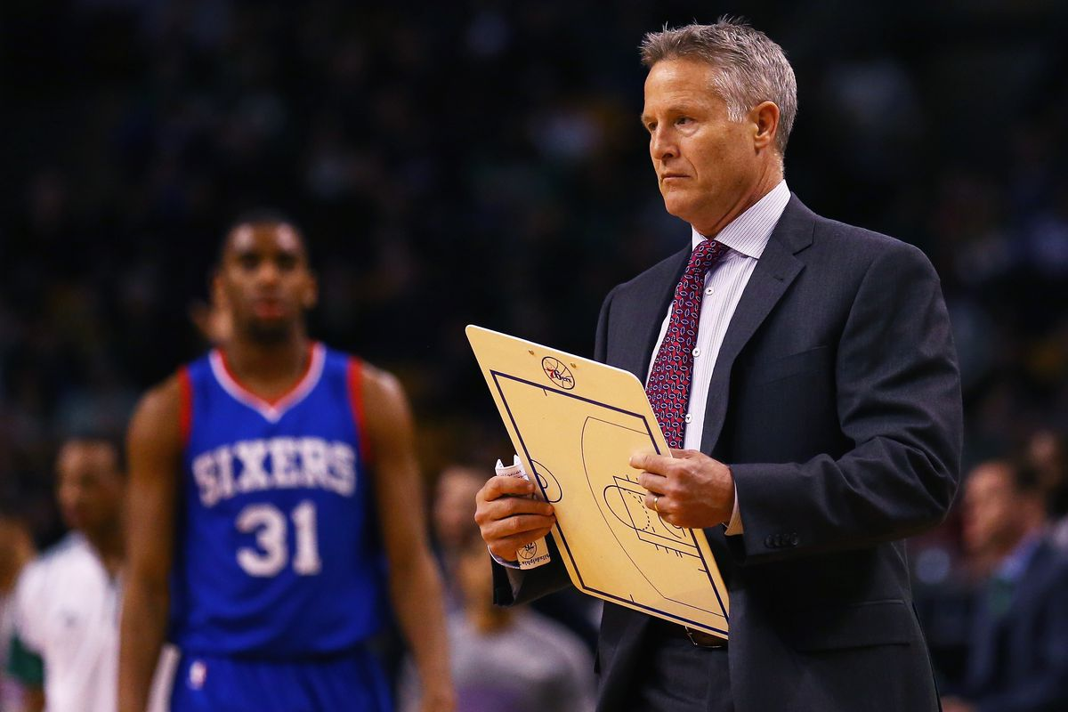Brett Brown now walks around with a copy of the team's roster just so he knows who is still here.
