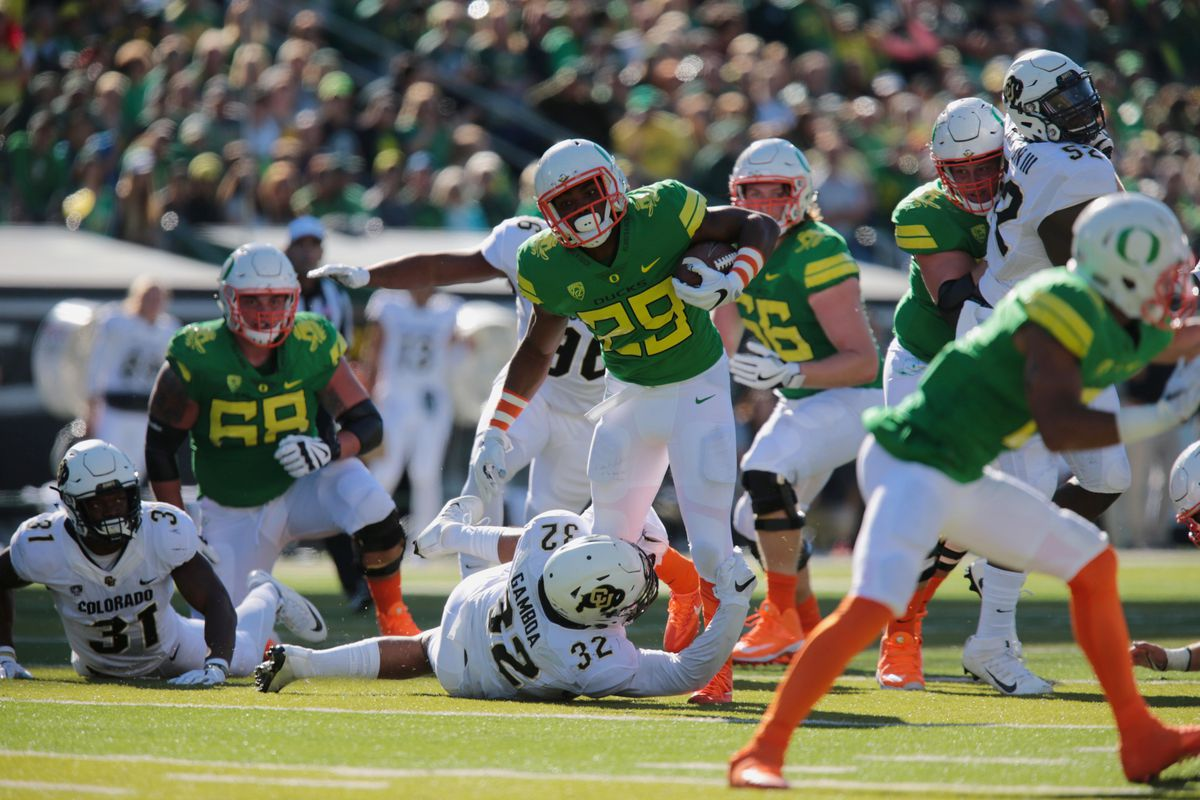 promo code 8b1ee 56146 Oregon's uniforms have gotten out of hand this year, and ...