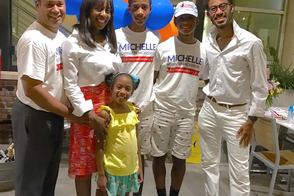 Michelle Robinson McKissack beat incumbent Chris Caldwell by 738 votes.