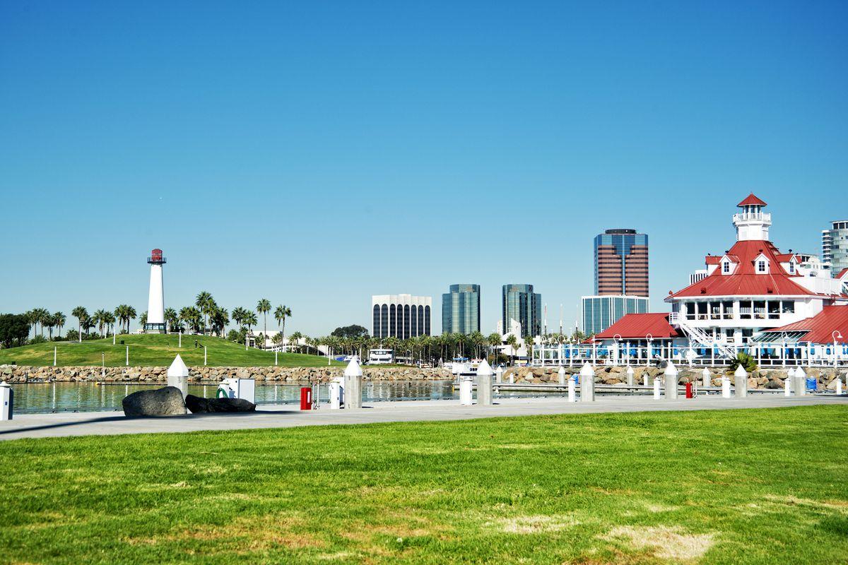 A photo of Long Beach.