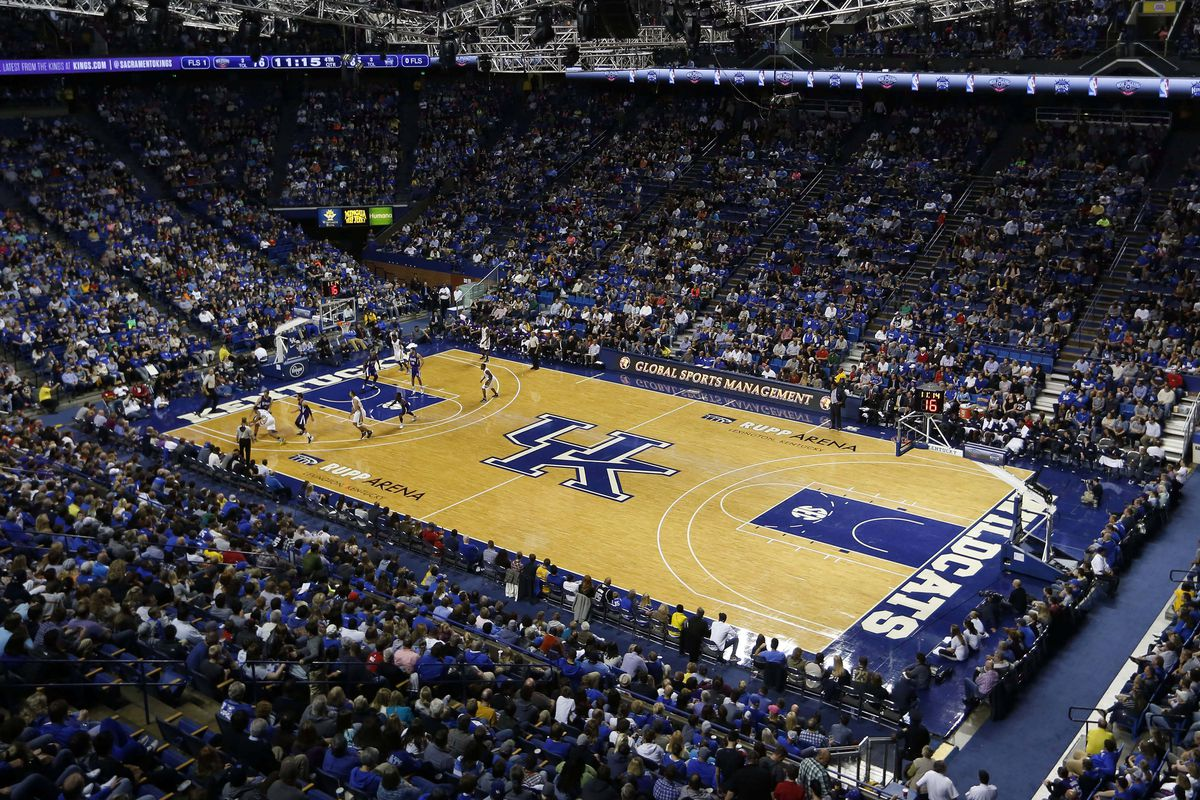 Uk Basketball Schedule: Kentucky Wildcats Basketball A Sea Of Blue
