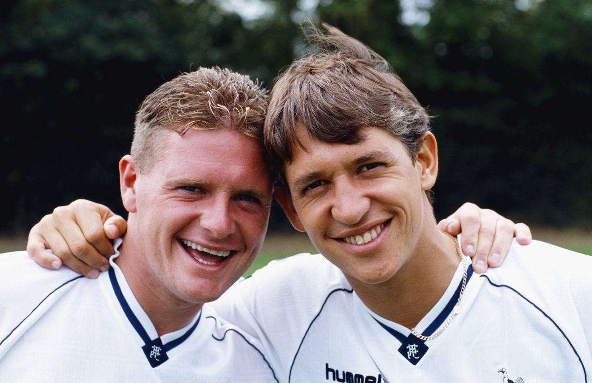 Paul Gascoigne and Gary Lineker