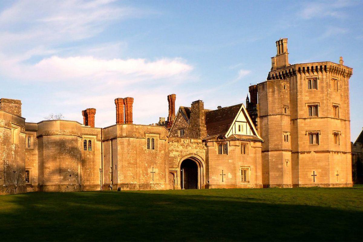 Tudor castle in England